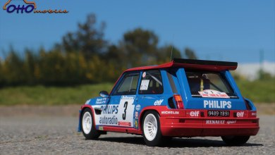 Photo de 1/12 : La Renault 5 Maxi Turbo de Ragnotti arrive ce soir
