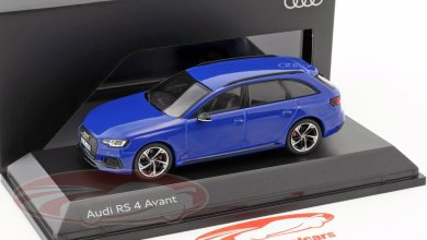 Photo of 1/43 : L'Audi RS 4 (B9 de Spark à 16,96 €