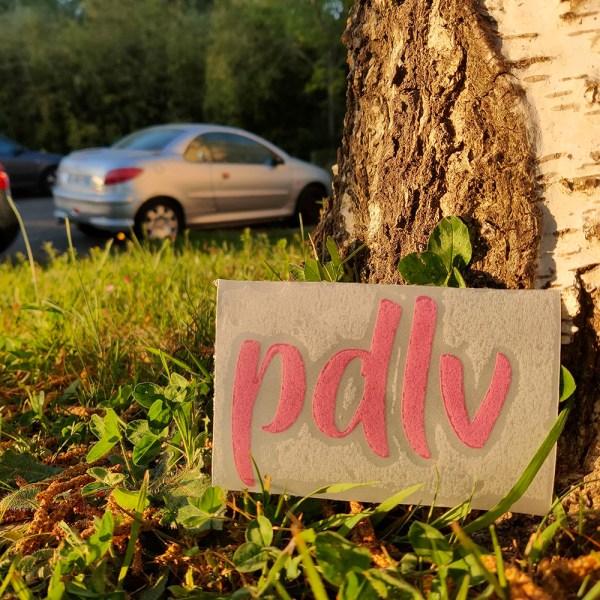 Sticker PDLV rose