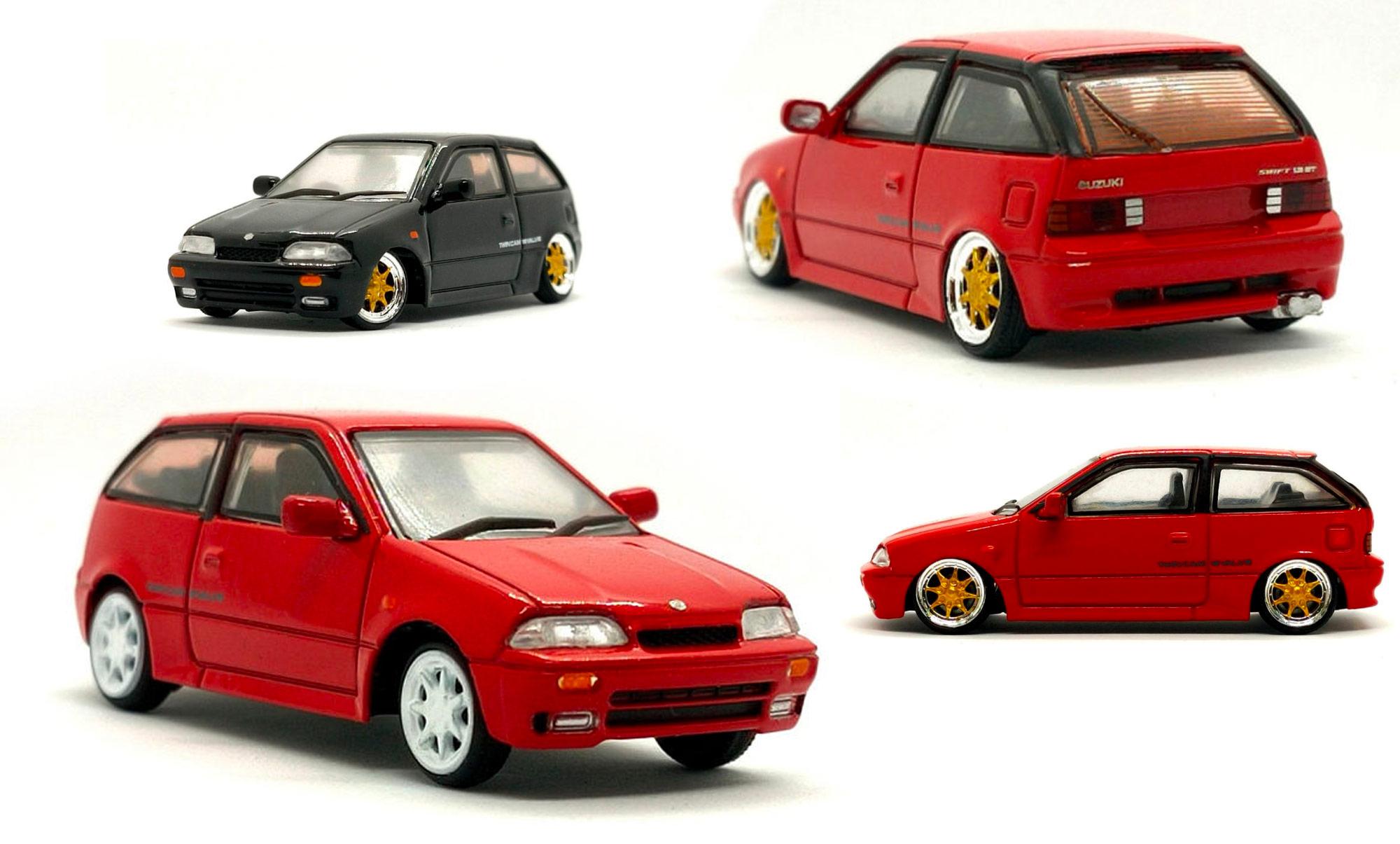 1/64 Suzuki Swift 1989 - BM Creations
