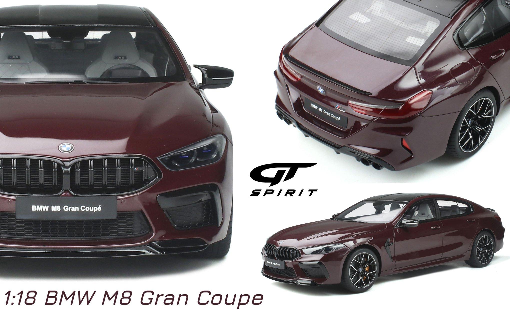 1/18 BMW M8 Gran Coupé GT Spirit
