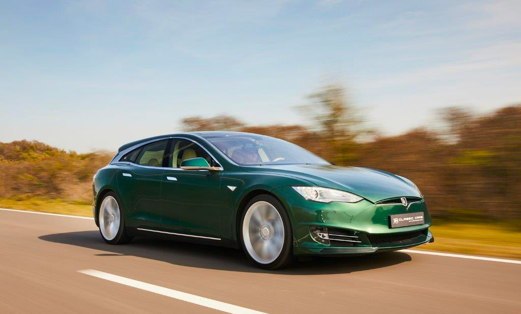 Tesla Model S Shooting Brake modèle unique