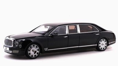1/18 Bentley Mulsanne Grand Limousine