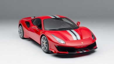 Photo de 1/8 : Amalgam propose la Ferrari 488 Pista