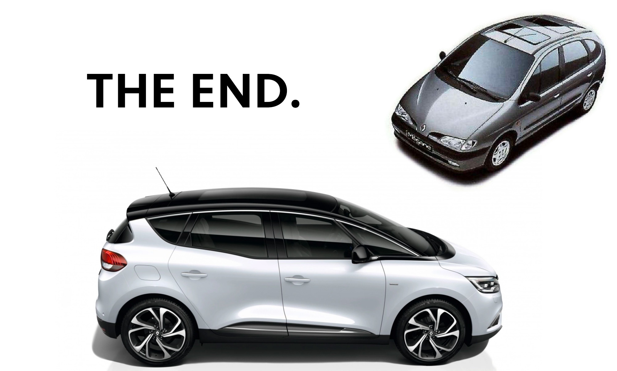Renault Scenic arrêt de commercialisation