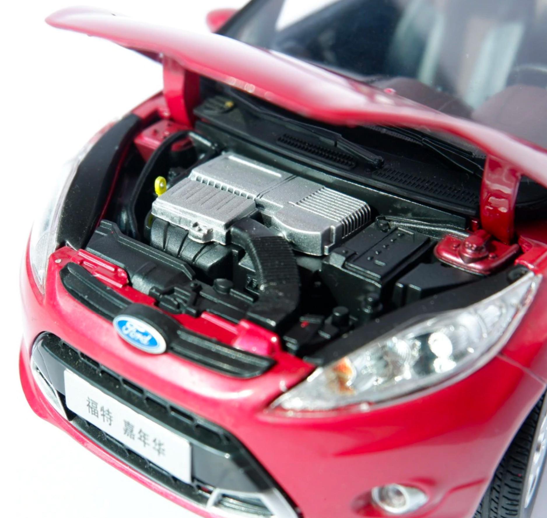 1/18 Ford Fiesta Paudi moteur