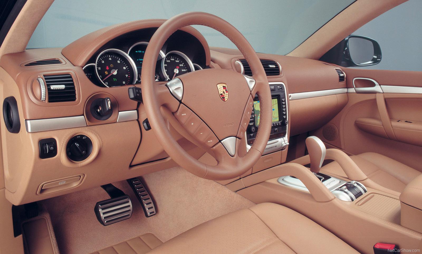 Intérieur Porsche Cayenne type 955
