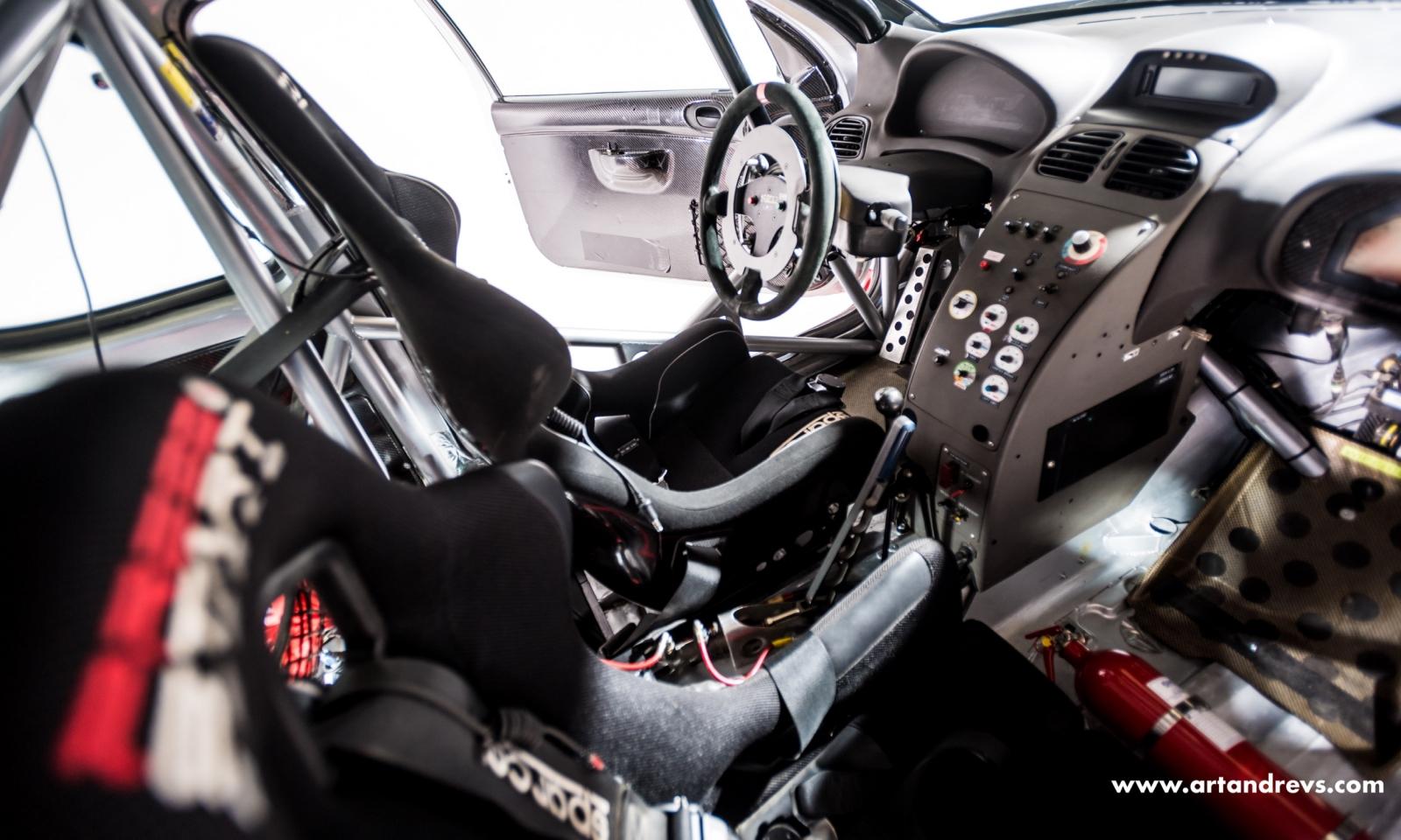 Peugeot 206 WRC siège