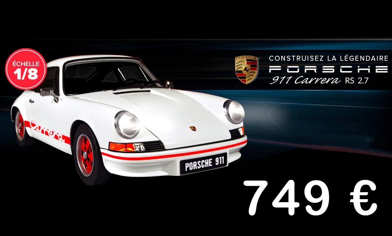 Porsche 911 Carrera RS 2.7 à construire Altaya
