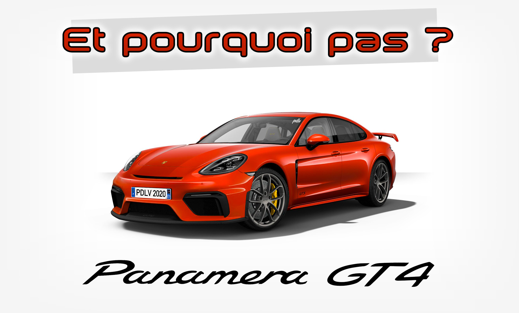 Porsche Panamera GT4 by PDLV
