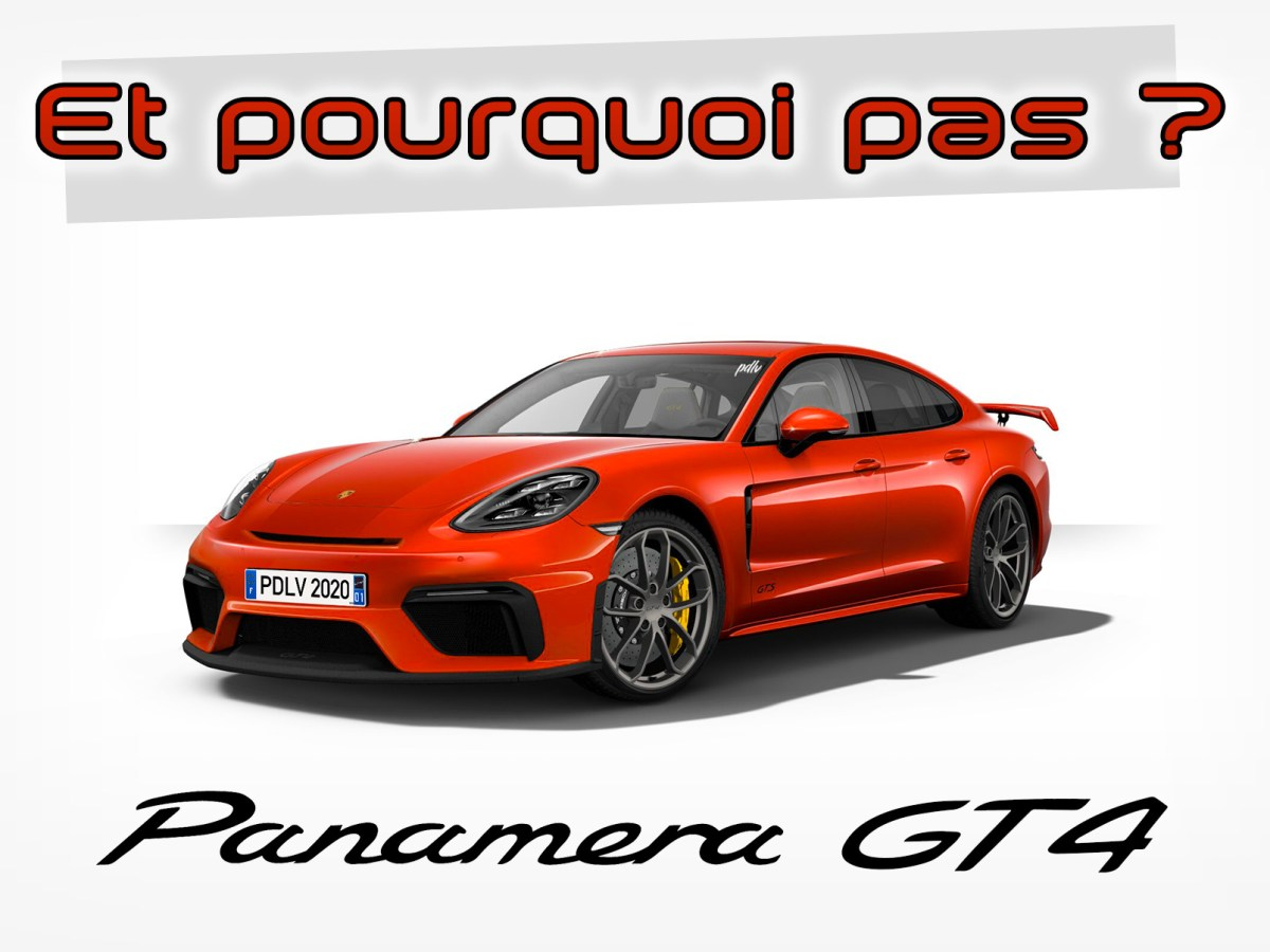 Porsche Panamera GT4 by PDLV