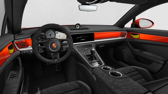 Porsche Panamera GT4 intérieur