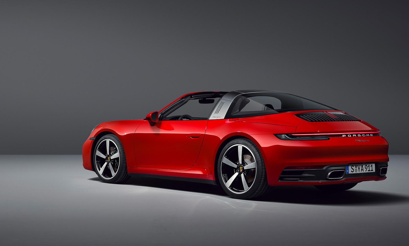 2020 Porsche 911 (992) Targa 4