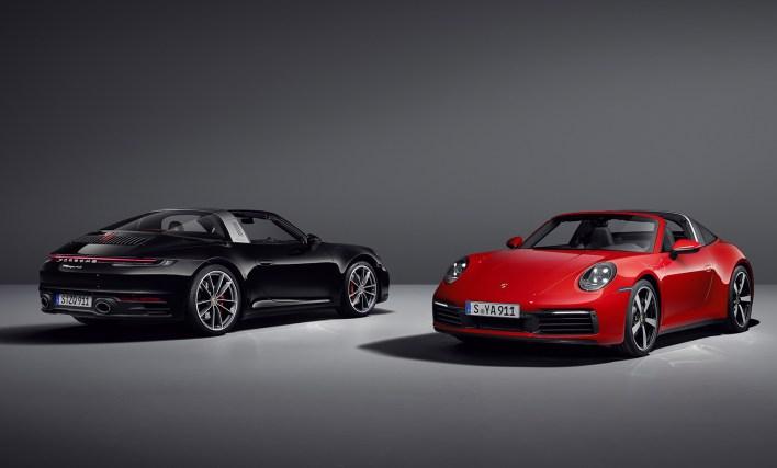 2020 Porsche 911 (992) Targa