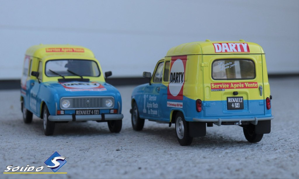 1/18 Renault 4 F4 Solido