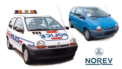 Photo of 1/18 : Norev va sortir la Twingo 1 de Police