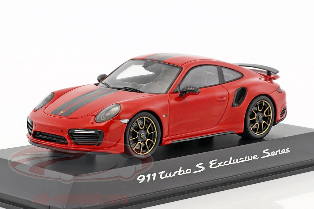 1/43 Porsche 911 Turbo S Exclusive Series SPARK