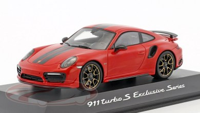 Photo de 1/43 : La Porsche 911 (991) Turbo S Exclusive Series de Spark à 29,95 €