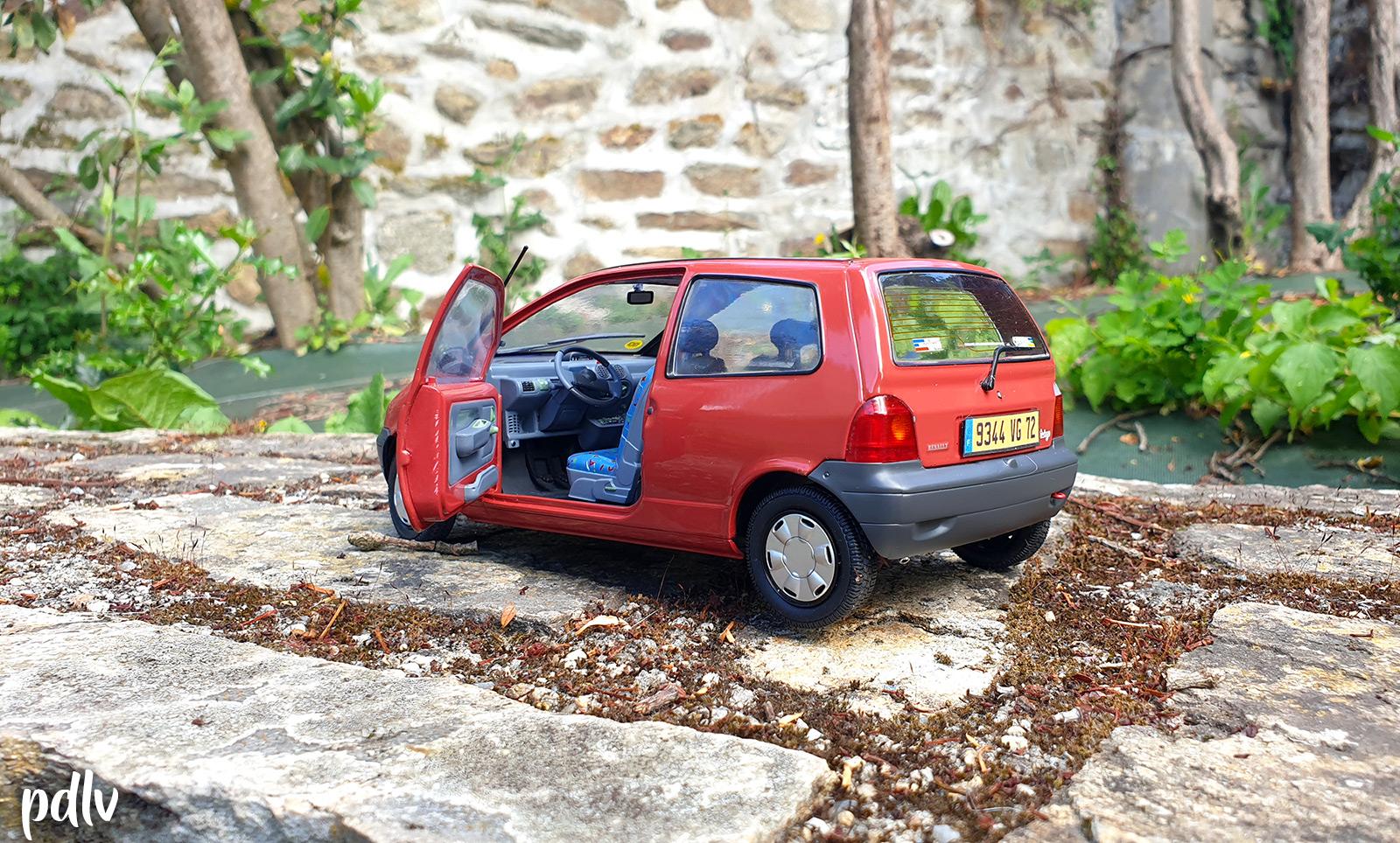 Ouvrants de la Renault Twingo 1 Solido