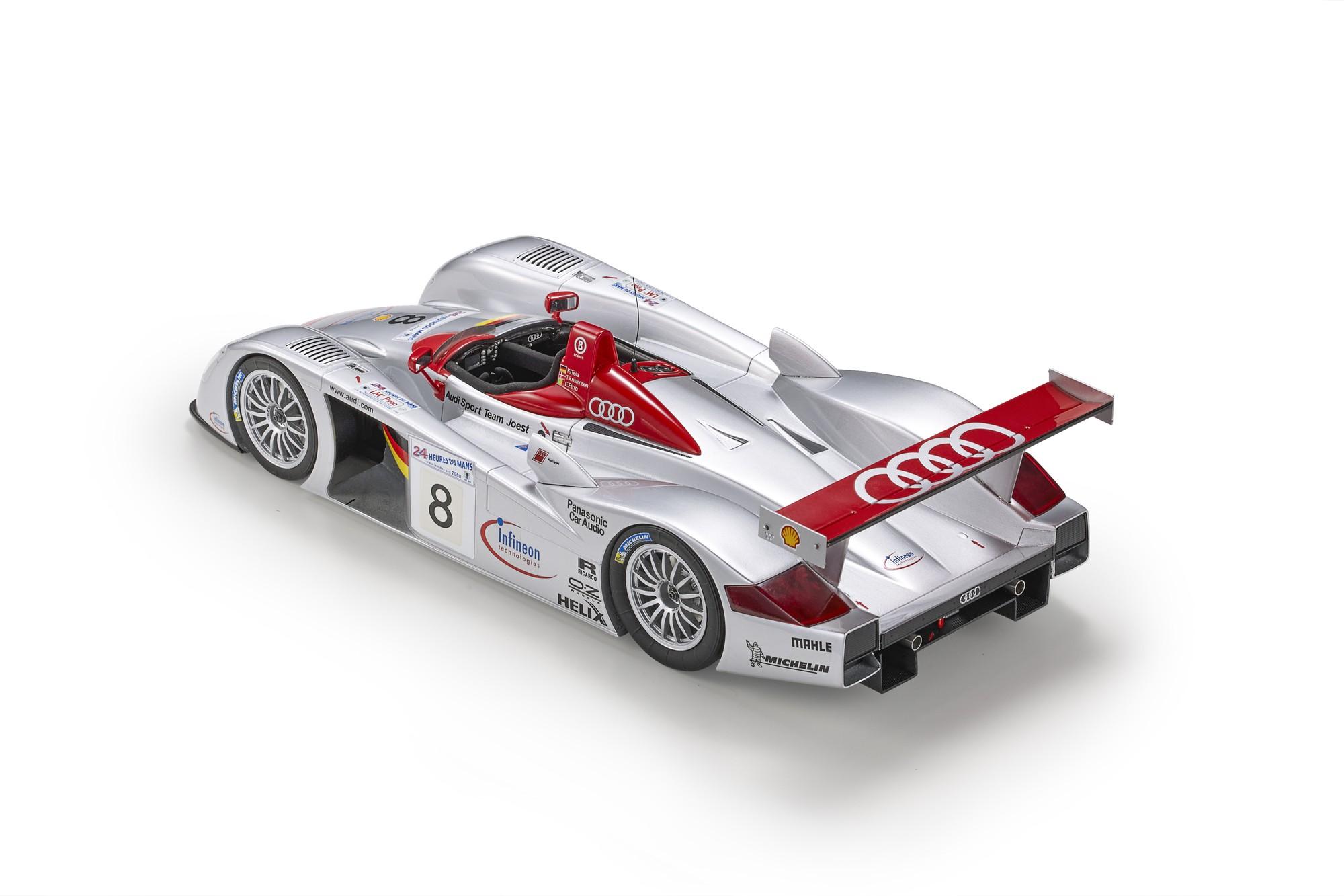 TOP106 Audi R8 LM 1/18