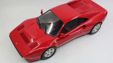 Photo de 1/12 : Top Marques prépare la Ferrari 288 GTO