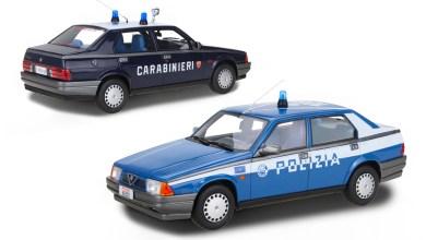 Photo of 1/18 : Réservez votre Alfa Romeo 75 Polizia ou Carabinieri