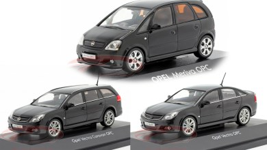 Photo of 1/43 : Des Opel Vectra et Meriva OPC à 12,95 €