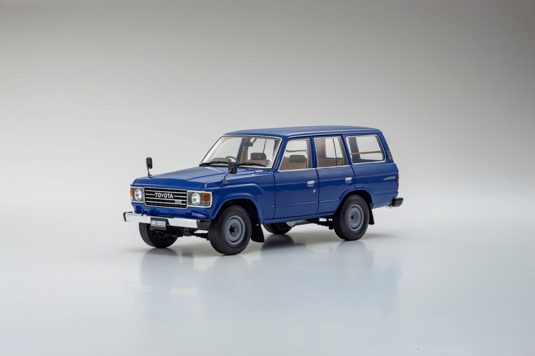 1/18 Toyota Land Cruiser BJ60 Kyosho (08956BL)