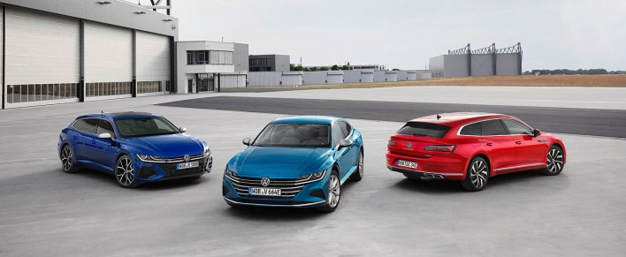 Volkswagen Arteon versions 2020