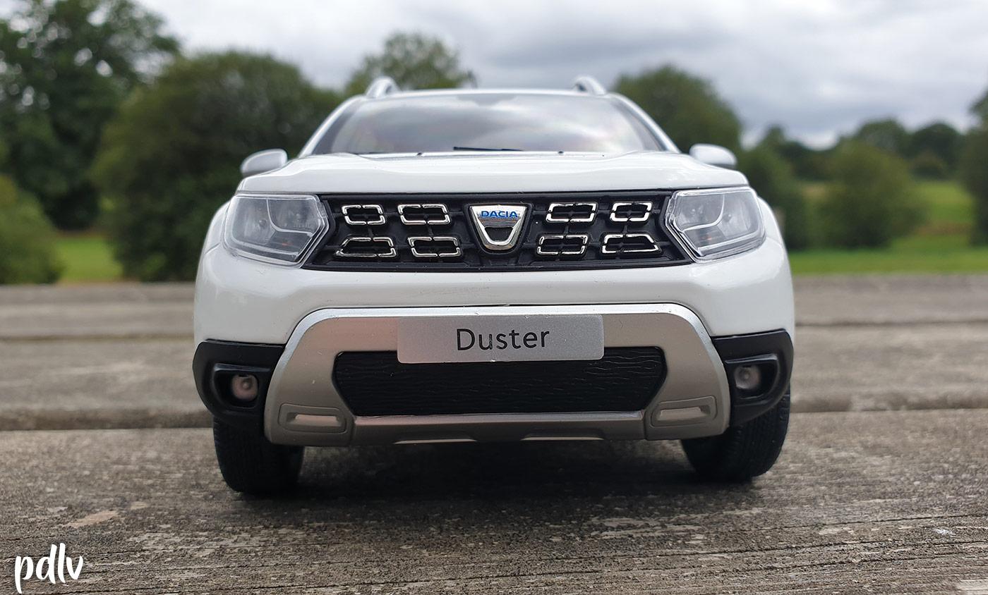 Avant du Dacia Duster Solido 1/18