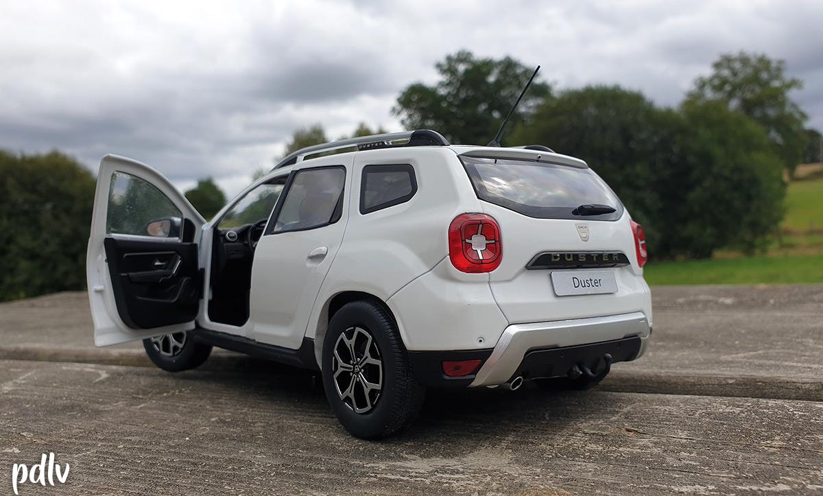 Ouvrants Dacia Duster Solido 2020 1/18