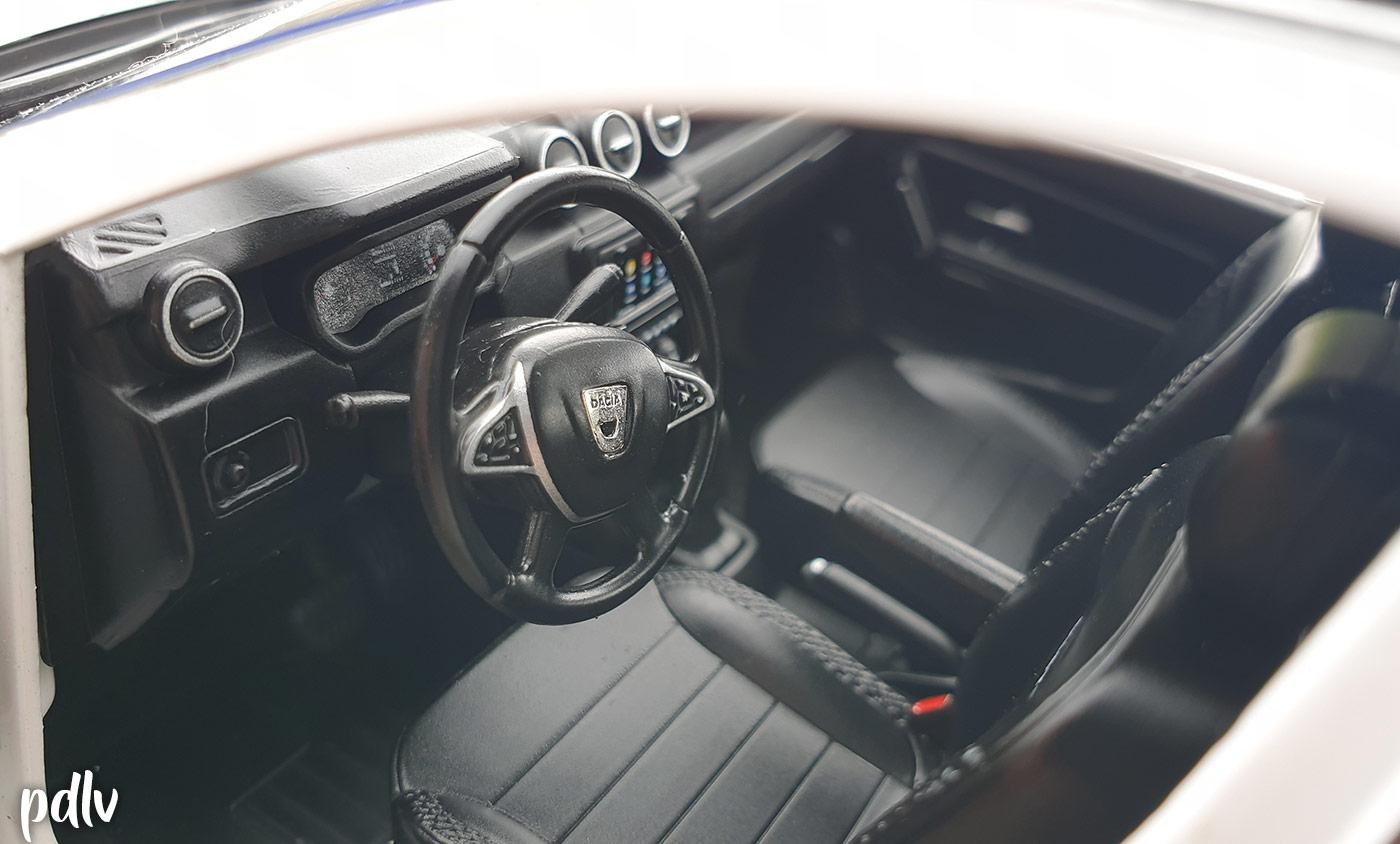 Intérieur du Dacia Duster Solido