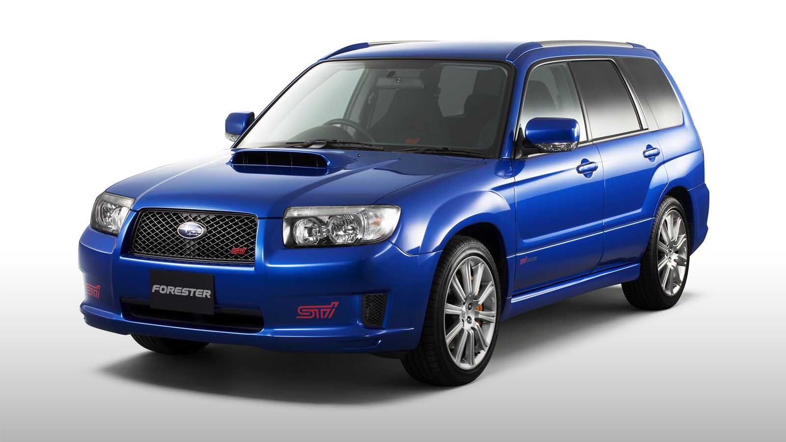 1/18 Subaru Forester STI DNA