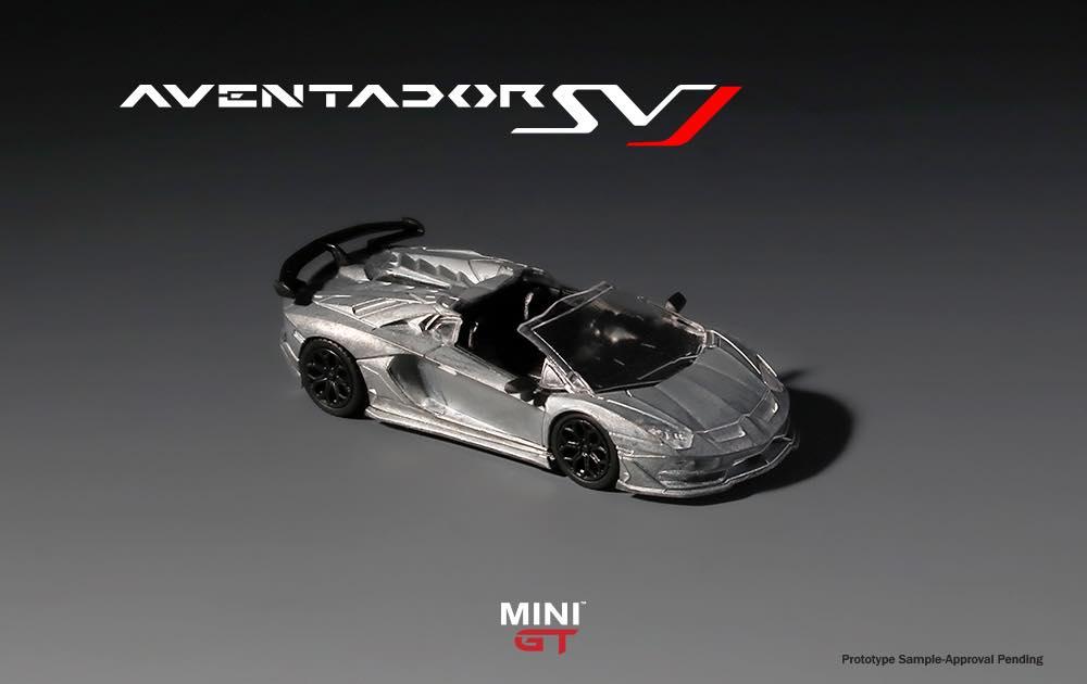 1/64 Lamborghini Aventador SVJ Mini GT