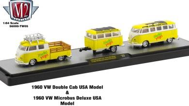 M2 Machines Set Volkswagen 56000-TW05