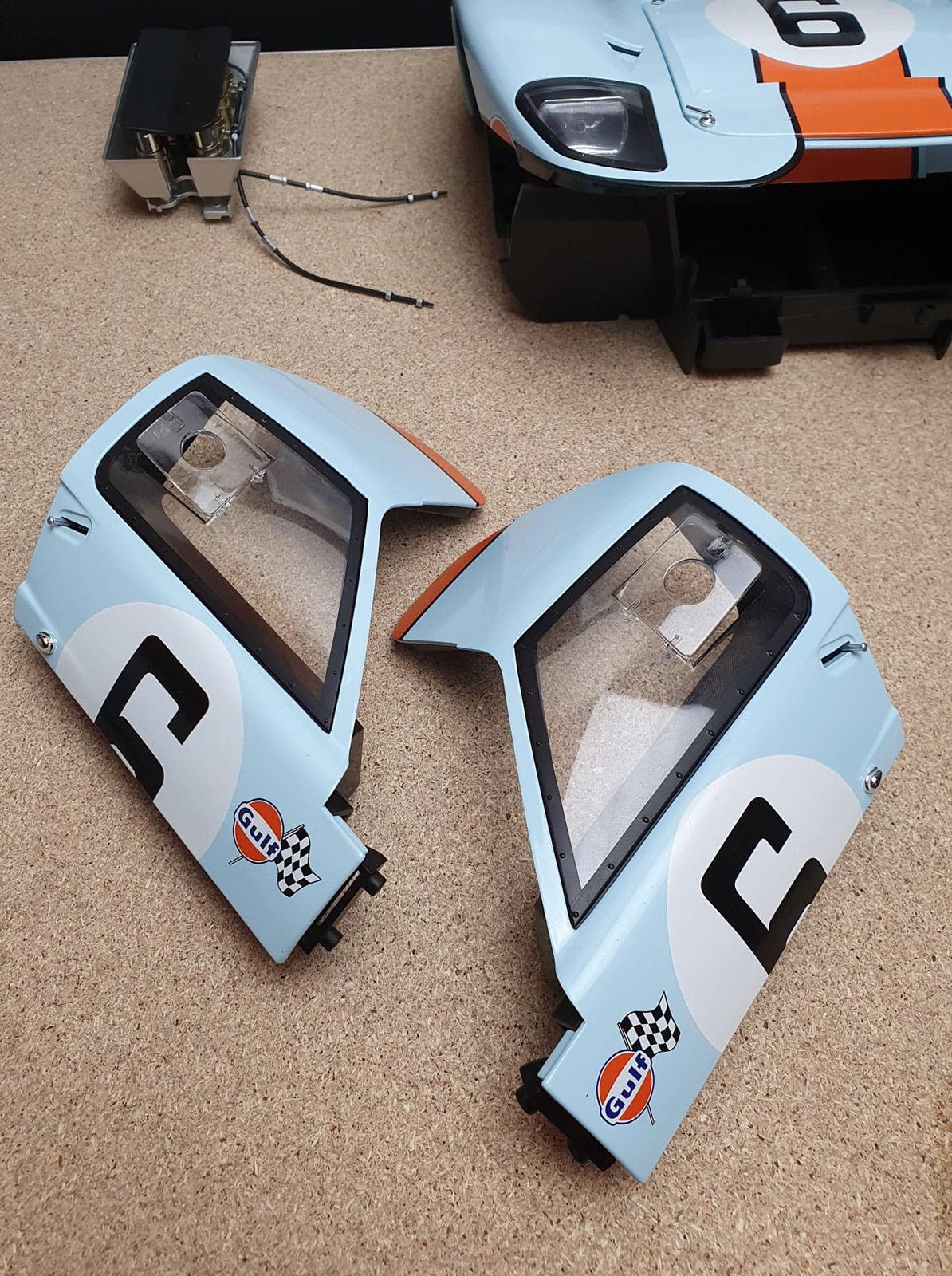 Portes Ford GT 40 Altaya