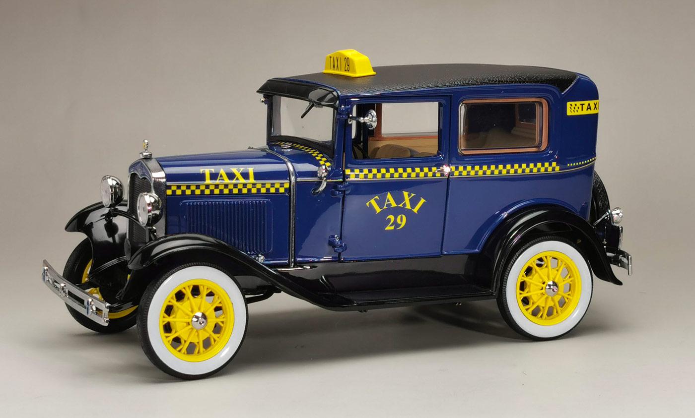 6107 Ford Model A Tudor Taxi