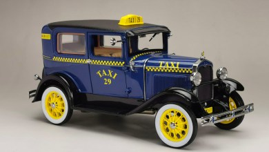 Photo de 1/18 : SunStar décline sa Ford Model A en taxi !