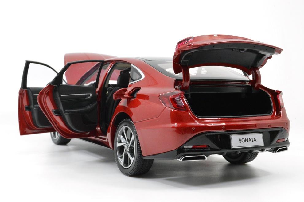 1/18 Hyundai Sonata Paudi coffre