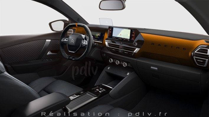 Citroën C4 Racing intérieur