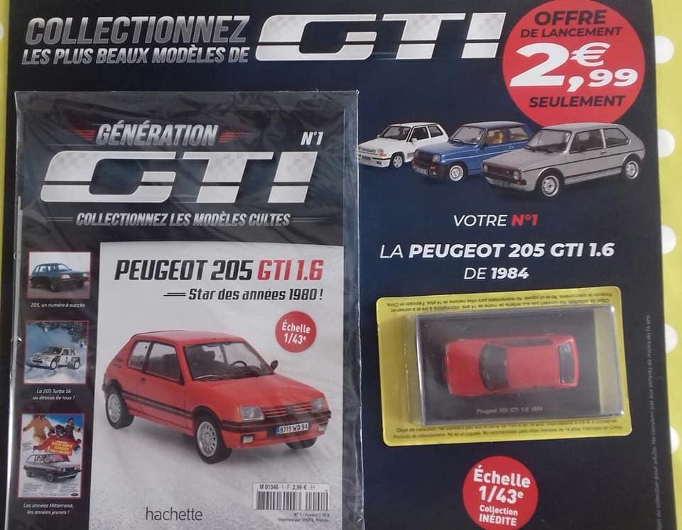 Collectionnez les GTI Hachette 1/43