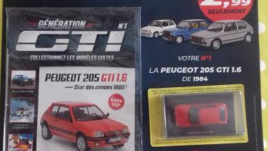 Photo de Hachette : collectionnez les plus beaux modèles de GTI au 1/43
