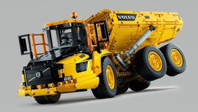 Photo of Lego dévoile un camion tombereau Volvo A60H