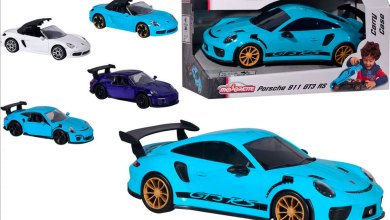 Majorette Carry Case Porsche 911 GT3 RS