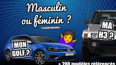 Photo de Votre voiture a-t-elle un nom masculin ou féminin (+ 200 modèles référencés)