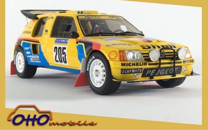 1/18 Peugeot 205 T16 Grand Raid