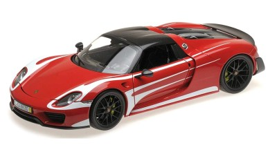 Photo of 1/18 : La Porsche 918 Spyder Weissach de Minichamps à 87,99 €