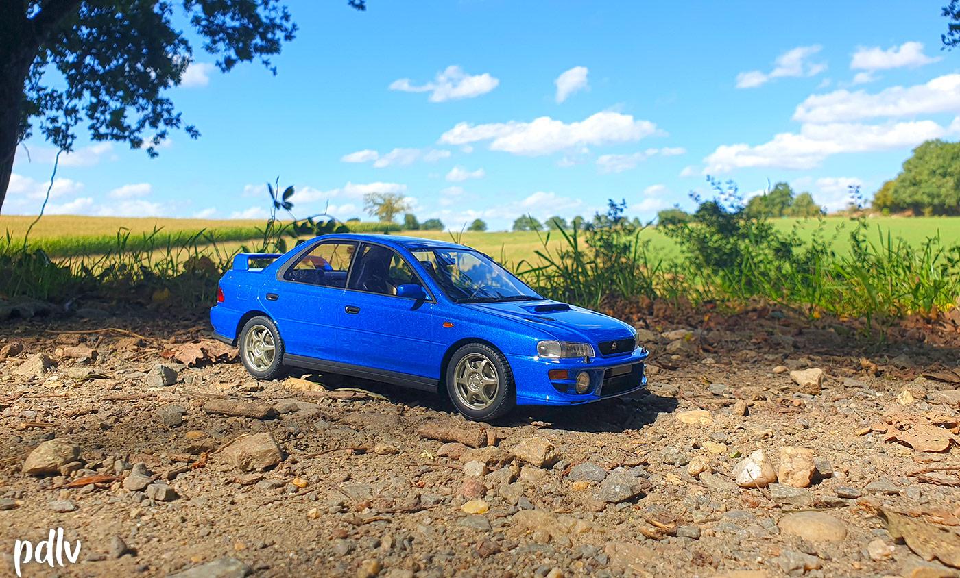 Subaru Impreza GT Turbo DNA 1/18