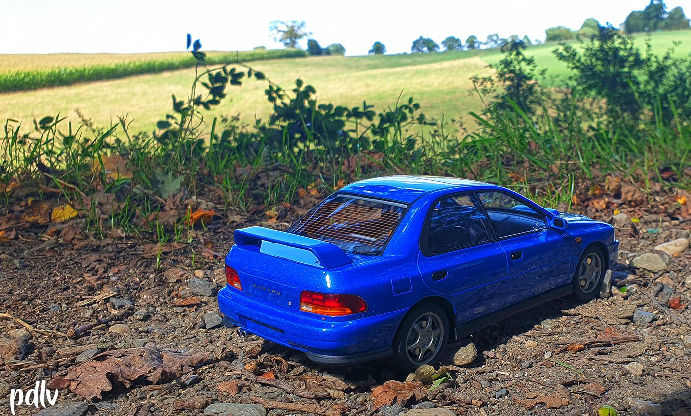 Arrière Subaru Impreza GT Turbo DNA