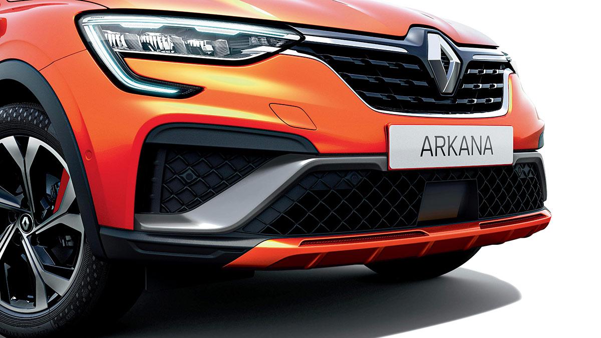 Calandre pare-choc Renault Arkana R.S. Line